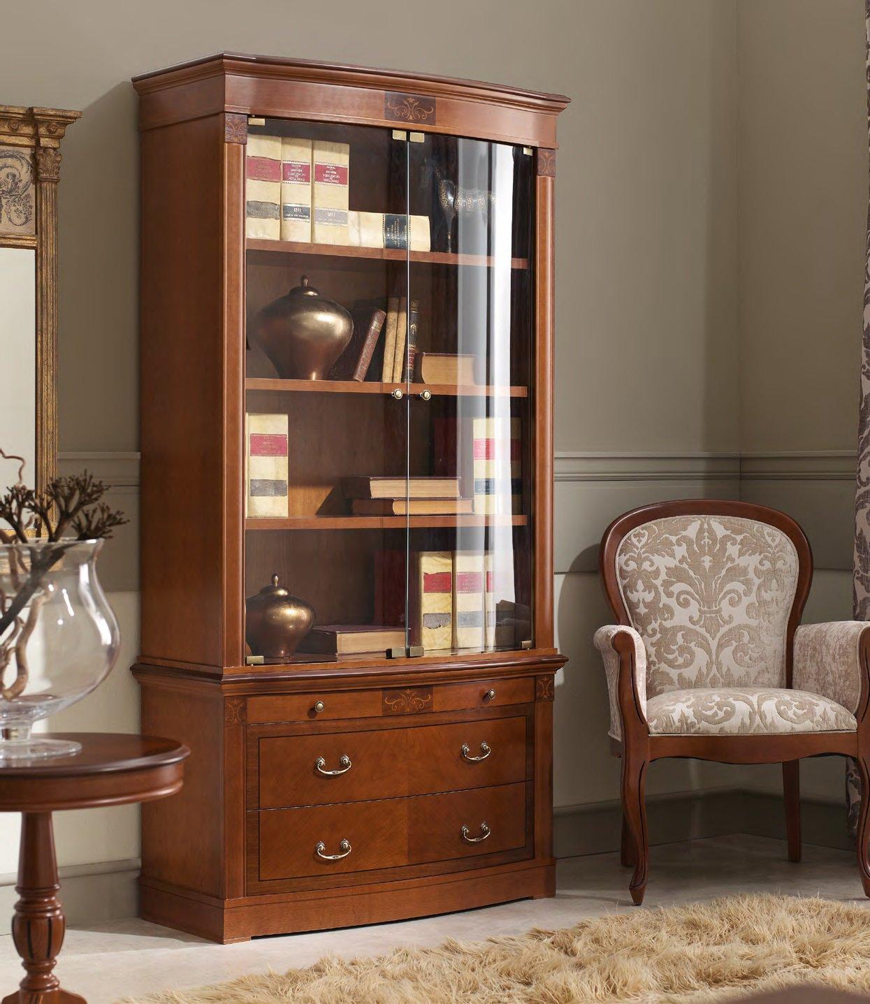 Книжный шкаф panamar 825.001.p в мебельных салонах le tabour.